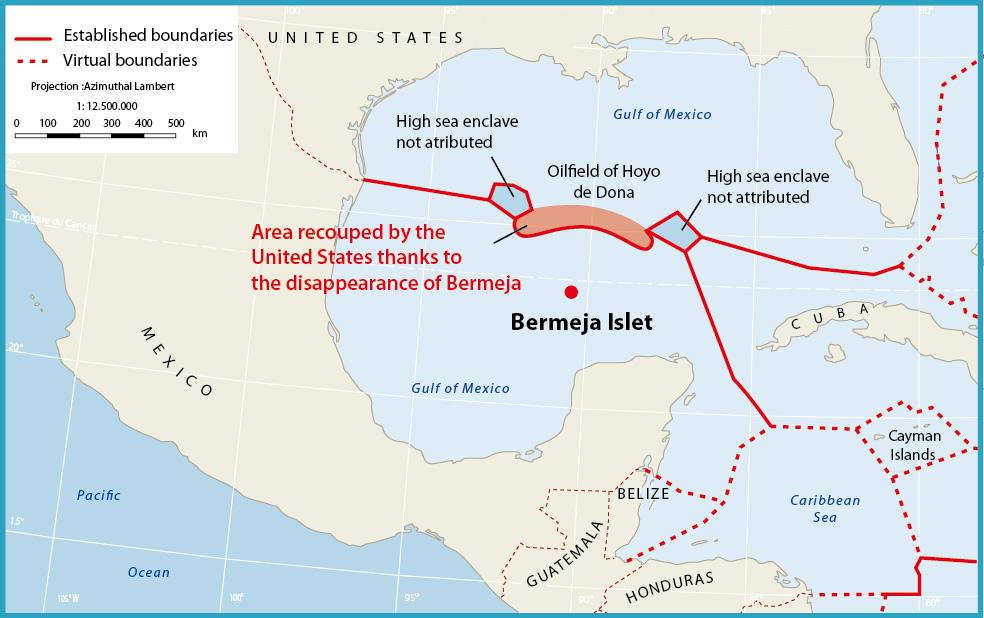 Caribbean Atlas - Us territorial waters map