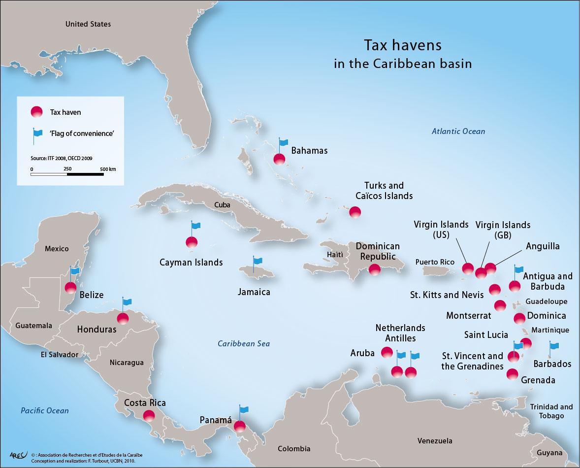 Insular Island Map