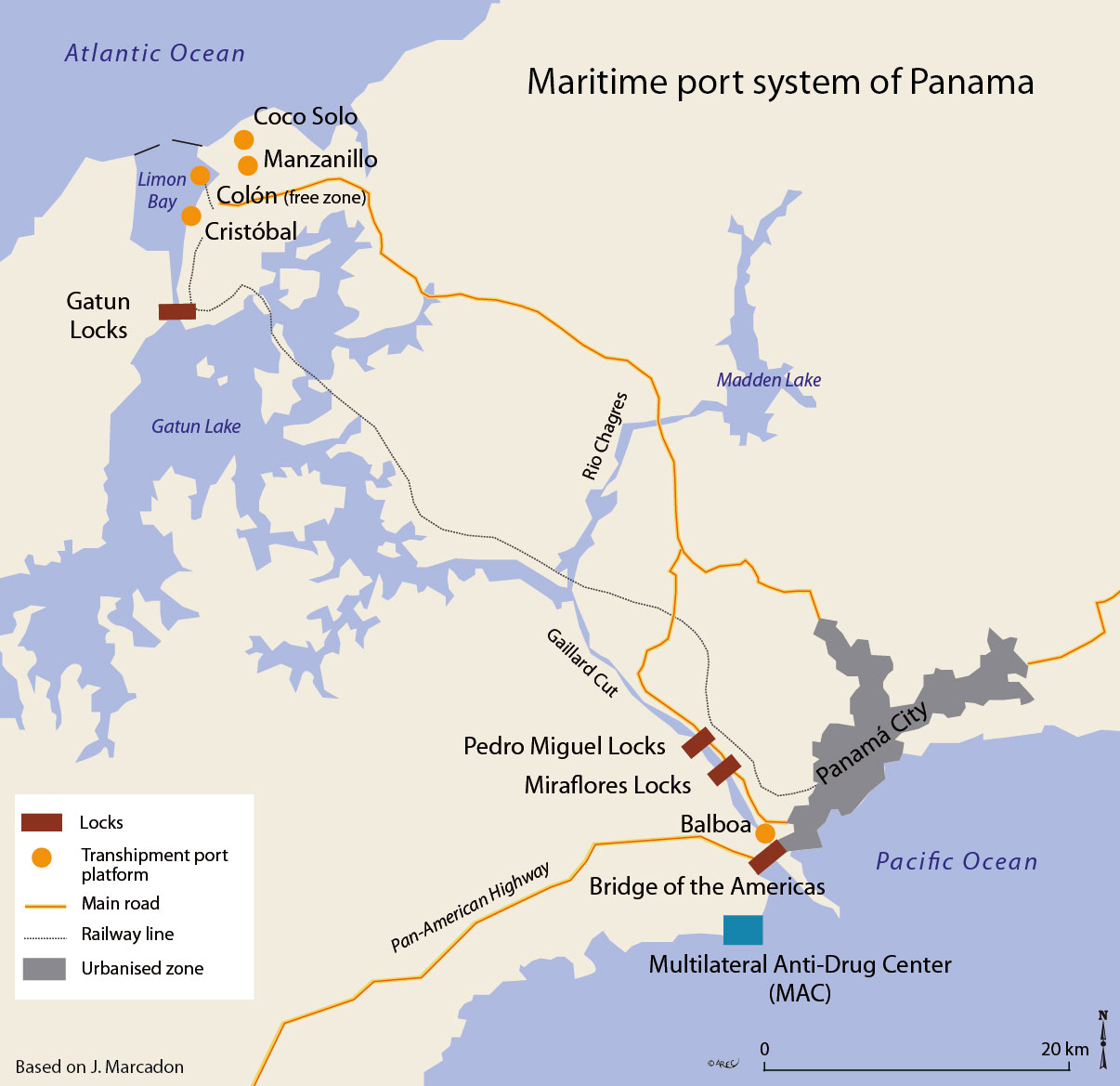 caribbean atlas which would be reimbursed by canal users in the medium term through an annual 3 5% rise in tolls and a loan of 2 billion dollars repayable in 8 years