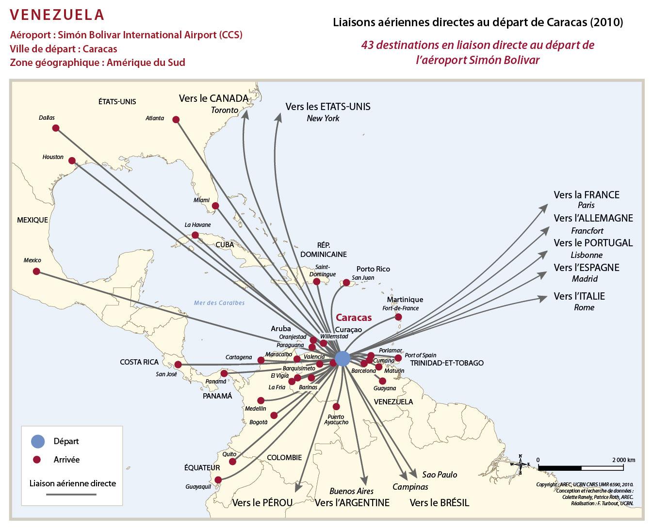 Carte Amerique Du Sud Aeroport.Atlas Caraibe